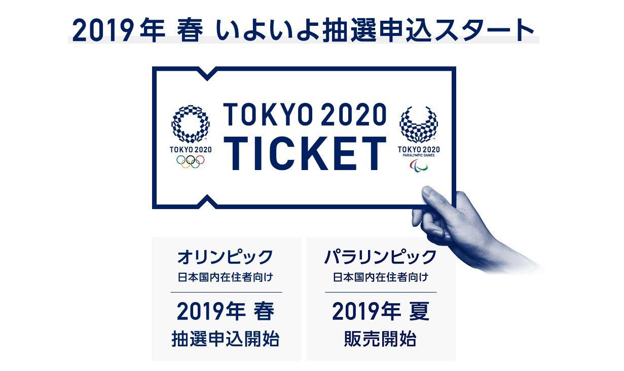 オリンピックチケット購入